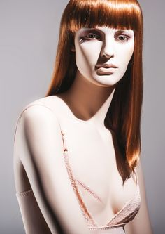 Unique realistic female mannequin by More Mannequins #mastectomy