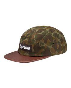 440757ced40 Supreme camo cap Supreme Hat