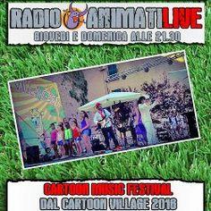 Cartoonia Music Festival 2016: in diretta su RadioAnimati