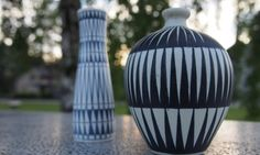 Finnish pottery by Arabia and Kupittaan Savi
