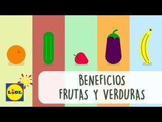 Beneficios de las Frutas y las Verduras - Lidl España - YouTube