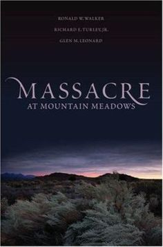 On September 11, 1857, most of the travelers in a wagon train passing through Utah to California were slaughtered by a party of Mormons. This unusual aggression by Latter Day Saints settlers -- who professed a doctrine of peace -- has remained unexplained for over 150 years. In Massacre at Mountain Meadows, LDS historians Ronald Walker, Richard Turley, and Glen Leonard consider reasons why the Mormons might have been provoked to such violence.