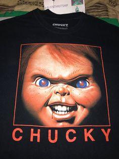 28493365b Vintage 2004 CHUCKY Movie Tee Child's Play Chucky Doll Shirt Size US XL / EU  56