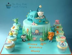 Octonauts Cake - Cake by The Clever Little Cupcake Company