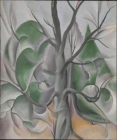 Georgia O'Keeffe (Am., 1887–1986), Grey Tree, Lake George,1925
