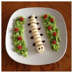 This caterpillar will make your kids love fruit & veggies #Food #ATTITUDEfamily