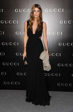 Bianca Brandolini d'Adda at Gucci Restoration Premiere of La Dolce Vita Dinner | RDuJour - 1/30/11