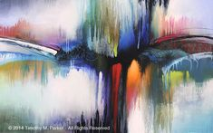 Abstract Contemporary Art Naples FL - Artist Tim Parker