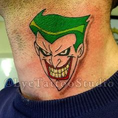 Joker tattoo for a very big batman comics fan. #Tattoo #Jo… | Flickr