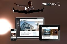 New 2020park website  2020park shall through sustainable and innovative solutions will be the Stavanger region's most pleasant office park. We have been involved from the start and has now built the website for 2020park completely new from scratch – customized a growing project.