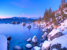 Lake Tahoe isn't just for summer fun. Here's how to make the most of a Lake Tahoe winter getaway, from frosty cruises to hitting the slopes and enjoying the Nevada casinos. Hawaii Volcanoes National Park, Volcano National Park, National Parks, Lake Tahoe Winter, South Lake Tahoe, White Sands National Monument, Smoky Mountain National Park, Oklahoma Lakes, Winter Wonder