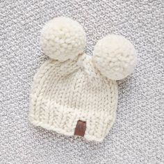 Hey gang! Today I thought I'd share my double pom pom hat pattern with you! I've had a few questions about how I attach the double poms, so I've included a video tutorial, and also a tutorial to walk you through the decreases. Please note: the pattern below is for the newborn size. The full...Read the Post