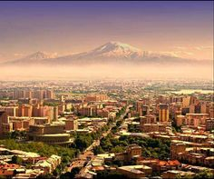 Yerevan, Armenia - Mount Ararat in the background| Travel Mania