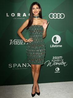 Victoria Justice at Variety's Annual Power of Women Luncheon held at the Beverly Wilshire Hotel in Beverly Hills on October 14, 2016
