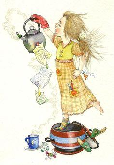ILLUSTRATIONS FOR CHILDREN ( MAVI )