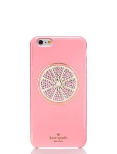 jeweled grapefruit iphone 6 plus case by kate spade new york