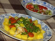 Design by Suzi: Dusená zelenina so zemiakmi Potato Salad, Pork, Potatoes, Ethnic Recipes, Sweet, Design, Pork Roulade, Pigs, Potato