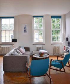 Scandinavian living room via Apartment Therapy