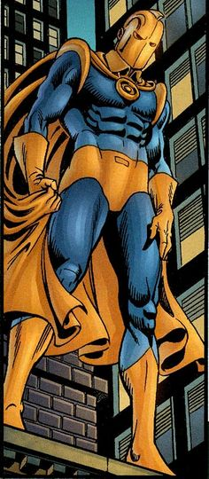 Kent V. Nelson came into possession of the Helm of Nabu, succeeding Hector Hall as the new Dr. He is the grand-nephew of the original Doctor Fate, Kent Nelson. Dc Comics Art, Batman Comics, Comic Books Art, Comic Art, Dc Doctor, Superman, Dr Fate, Suspended Animation, Dc Trinity