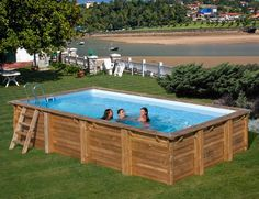 Holzpool EVORA #Pool #Garten #Holzpool #äußere #IdeePool