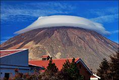el sombrero del volcán
