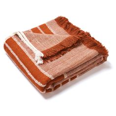 Manta in Orange Alpaca Bedcover – Hollywood At Home Weighted Blanket, Queen, Pillow Talk, Hand Weaving, Orange, Luxury, Hollywood, Bedroom, Blanket