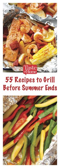 55 Recipes to Grill Before Summer Ends