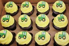 cupcake cake tractor   wedding cakes, cupcakes, cake pops, birthday cakes   Tractor Cupcakes ...