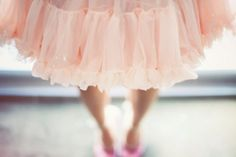 Tulle. Tulle. And pastel pink. What's not to be ballerina about this outfit?