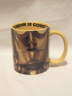 New Hallmark Star Wars C3-PO Collectible Ceramic Coffee Mug Cup This drink is