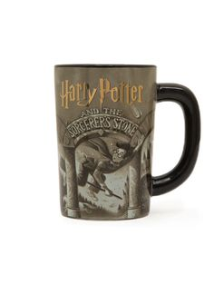 This magical Harry Potter and the Sorcerer's Stone mug is perfect for your next cup of tea, coffee, or butterbeer! Each purchase helps to fund literacy programs and book donations to communities in need. Harry Potter Merchandise, Harry Potter Shirts, Harry Potter Outfits, Harry Potter Love, Harry Potter Book Covers, Hogwarts Christmas, Literacy Programs, The Sorcerer's Stone