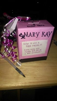 Mary Kay Mircoderm Facial box!! You can use for leads :) you can contact me at nwillinsky@marykay.com or order from marykay.com/nwillinsky