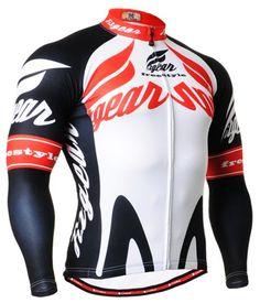 Men s Biking jerseys white shirts cycling clothes top S~3XL d7d29f894
