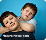 BPA (used as can lining for food) causes obesity in children, new study shows.  NEVER buy canned food except EDEN Foods, which are BPA-free.