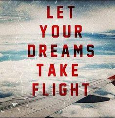 Let your dreams take flight.. | #dream #flight #aviation #AviationLover #plane | For more photos, news and videos pls click photo or visit: http://instagram.com/photosofaviation