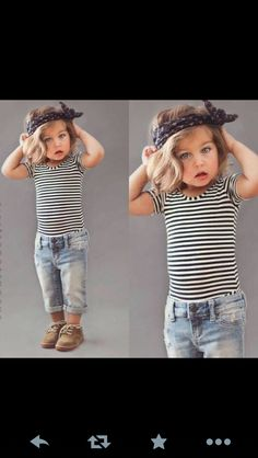 Adorable Preppy Toddler