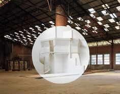 Georges Rousse, Meisenthal 2002, 2002 © Georges Rousse / ADAGP