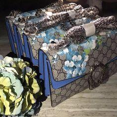 Gucci Blue Blooms DIonysus Bag