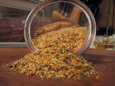 The rub we used for the goat roast at our rehearsal dinner - and for grilling meats ever since