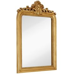Hamilton Hills Top Gold Baroque Wall Mirror Rich Old World Feel Framed for sale online Wall Mounted Mirror, Wall Mirror, Hamilton, Anthropologie Mirror, Baroque Mirror, Entryway Mirror, Home Goods Decor, Beautiful Mirrors, Beveled Mirror