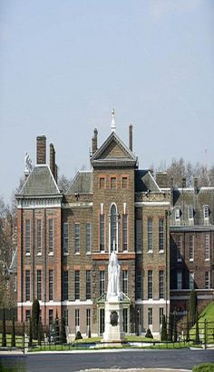 Kensington Palace in London, England -  a residence of the British Royal Family since the 17th century