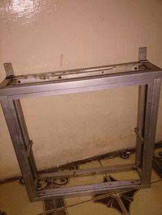 Unfinished rack