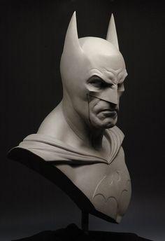 Custom Made Life Size Batman Bust