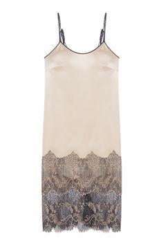 Шелковое платье «Золото» Esve - Идеальное платье-комбинация на тонких бретельках из коллекции российского бренда Esve в интернет-магазине модной дизайнерской и брендовой одежды