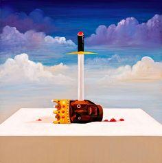 © George Condo, Kanye, huile sur toile 2010