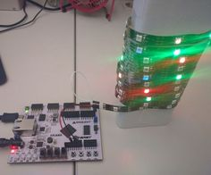 Addressable LEDs on the Arty FPGA board  https://www.justleds.co.za