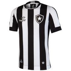 0e3a0eb663 Camisa Botafogo I 2016 s nº Torcedor Topper Masculina - Preto e Branco - Compre  Agora