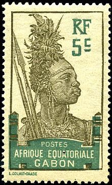 Postage stamps and postal history of Gabon on Wikipedia