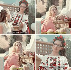 "Orphan Black S3E01. ""Way better thanks to science"" So awesome that Helena imagined Cosima totally cured"