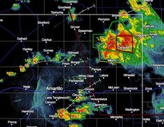 7:25PM Severe Weather Update A torando-warned supercell thunderstorm continues to impact the eastern panhandle just north of Canadian. This storm has a history of producing multiple funnels and tornadoes, and is expected to continue doing so until after sunset and we begin to lose daytime heating. So far, all the tornadic ... Read the whole article at http://texasstormchasers.com/?p=38003 - Jenny Brown